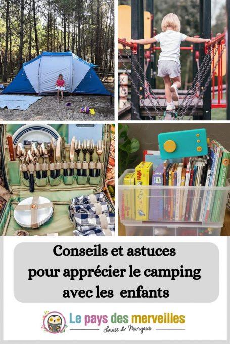 Conseils et astuces pour apprécier le camping avec les enfants