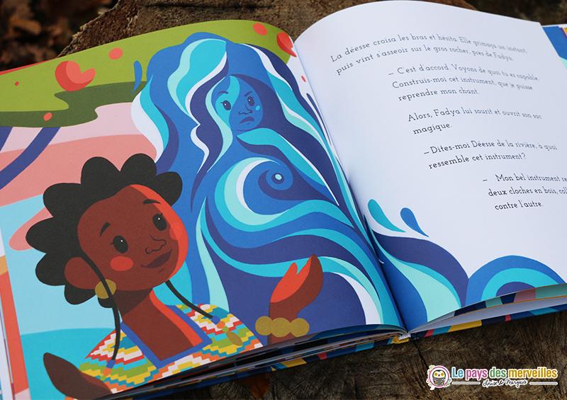 Fadya et le chant de la rivière conte africain