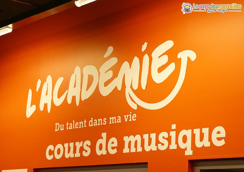 Académie : cours de guitare chez Cultura