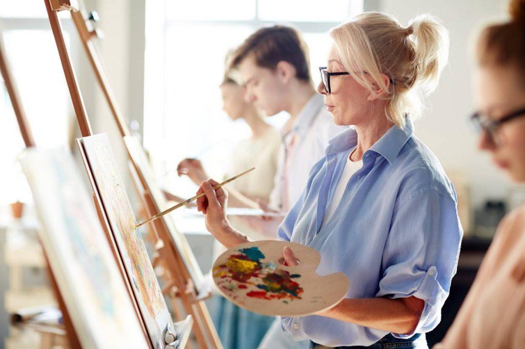 Peindre pour exprimer sa créativité