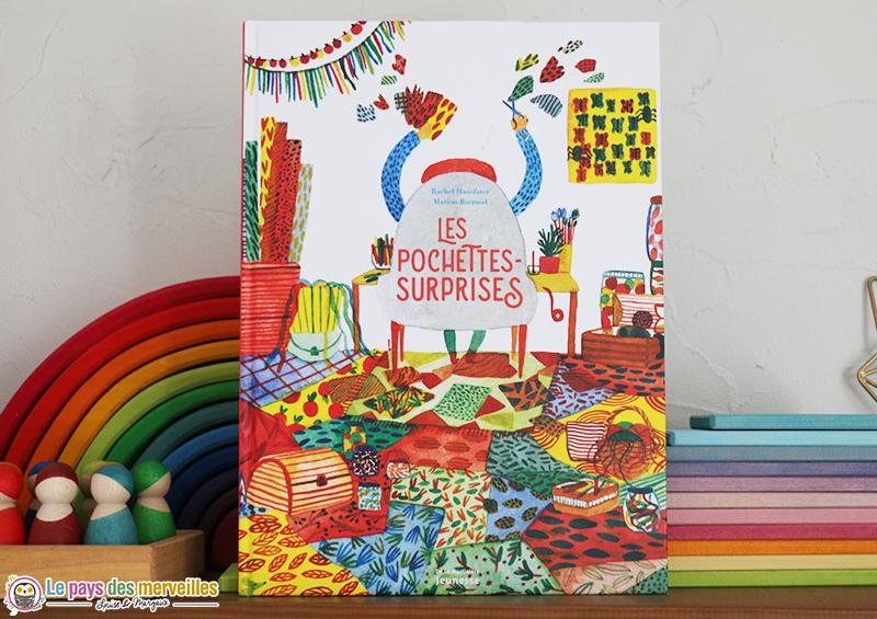 Couverture du livre jeunesse Les pochettes surprises