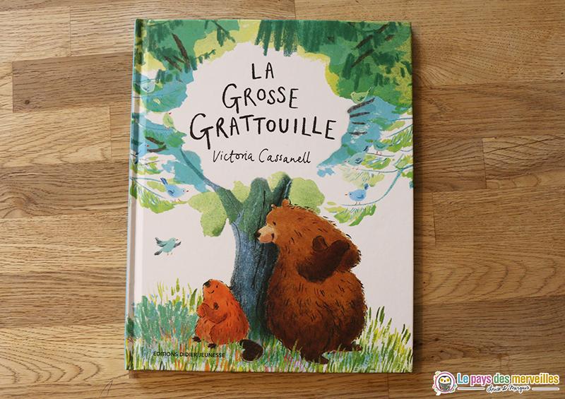 Couverture du livre La Grosse Grattouille des éditions Didier jeunesse