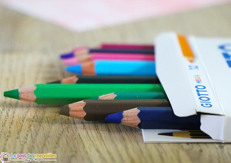 Crayon de couleur giotto mega