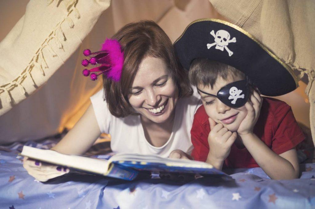 creer univers pirate dans chambre enfant