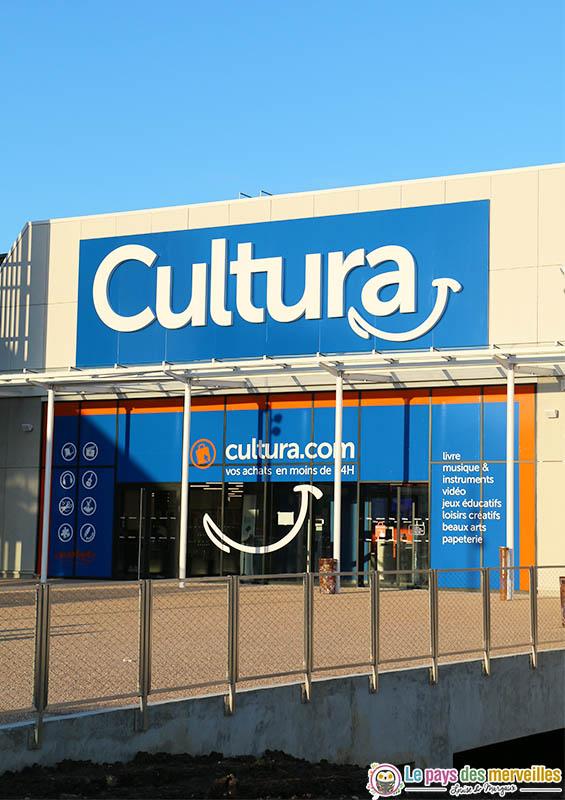 Nouveau Magasin Cultura A Montivilliers 76