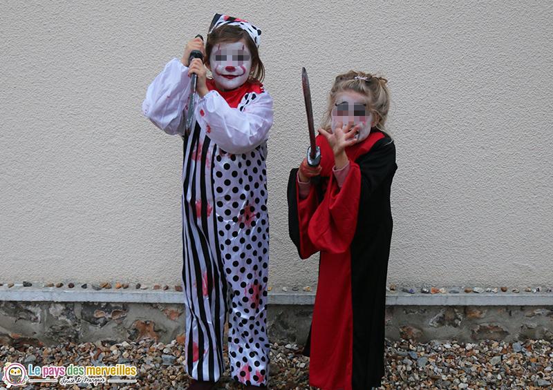 Déguisements pour Halloween