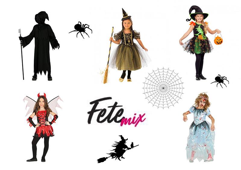 Sélection de déguisements pour Halloween