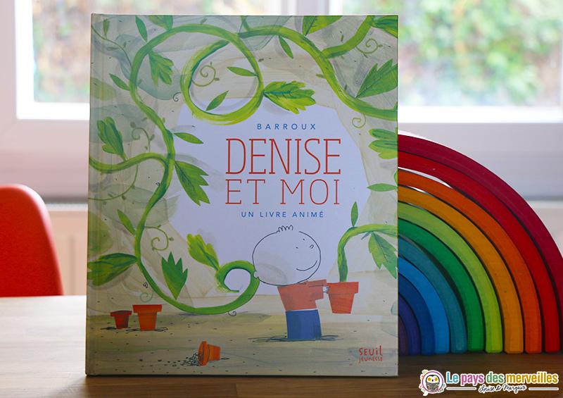 livre pour enfant Denise et moi