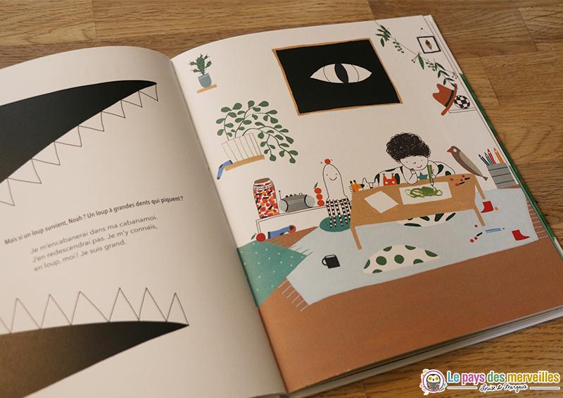 Livre pour enfant sur le thème de l'imagination