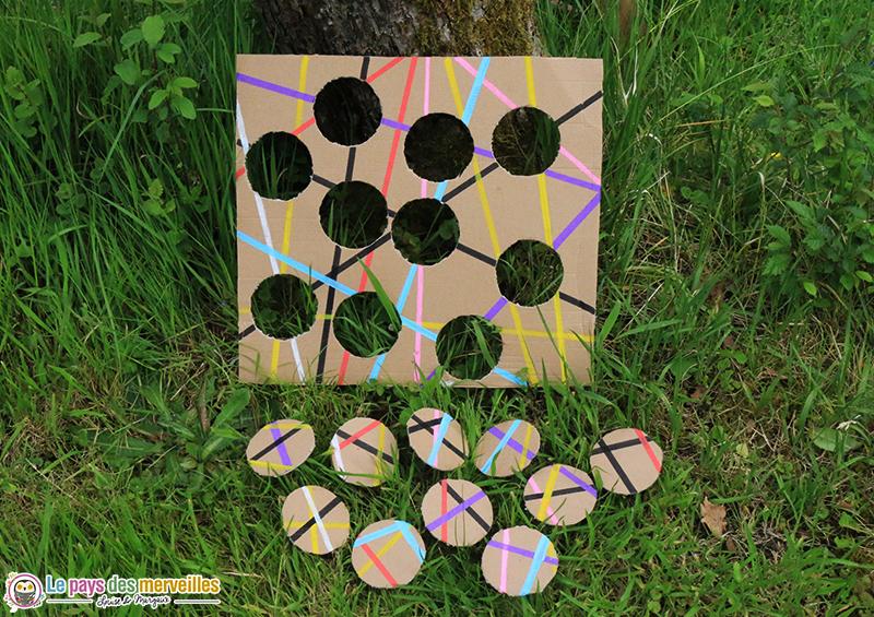 diy puzzle en carton