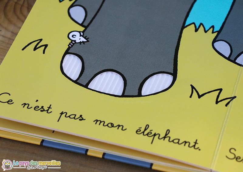 Patte éléphant à toucher