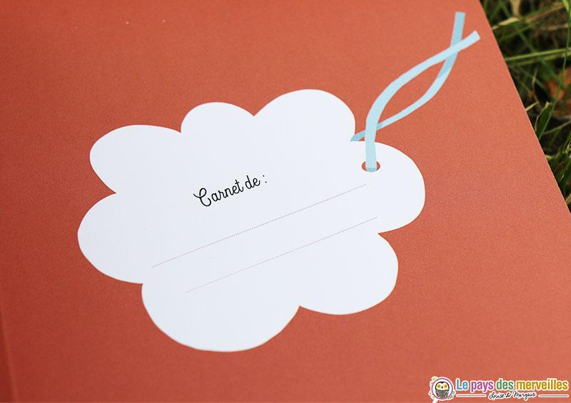 Emplacement pour écrire son prénom