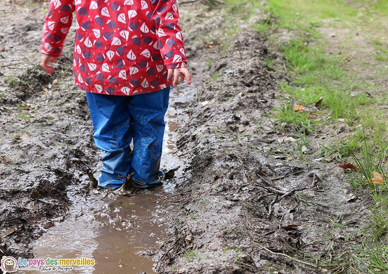 Equipement pluie pour les enfants