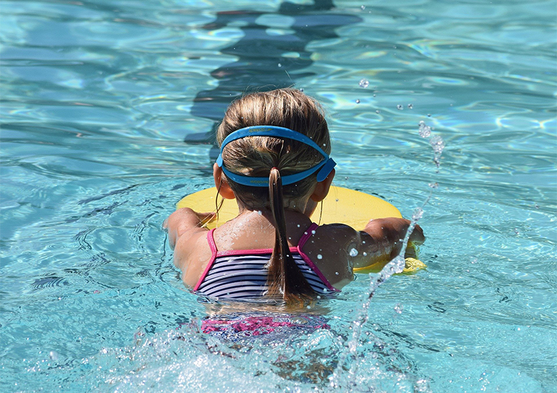 equipement piscine enfant