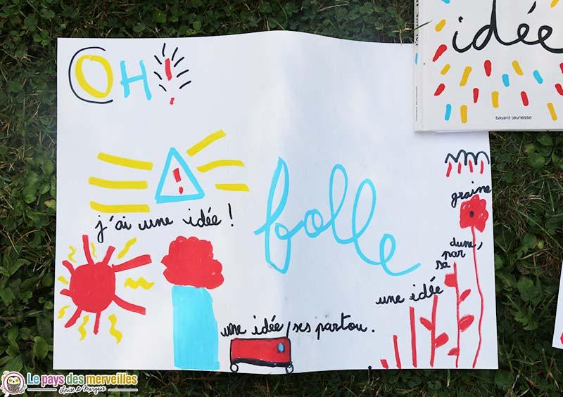 Dessin enfant 7 ans Hervé Tullet
