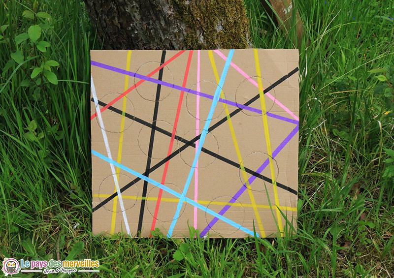 activité recup puzzle carton