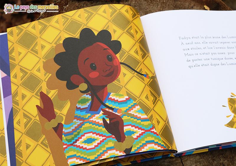 illustrations Fadya et le chant de la rivière