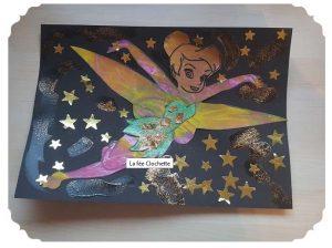 La fée clochette gommettes étoile