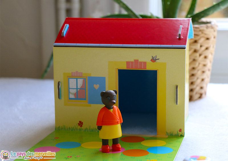 Figurine Maman Ours et sa maison