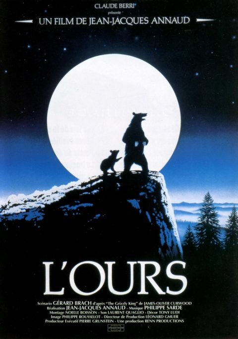 L'ours Jean jacques Annaud