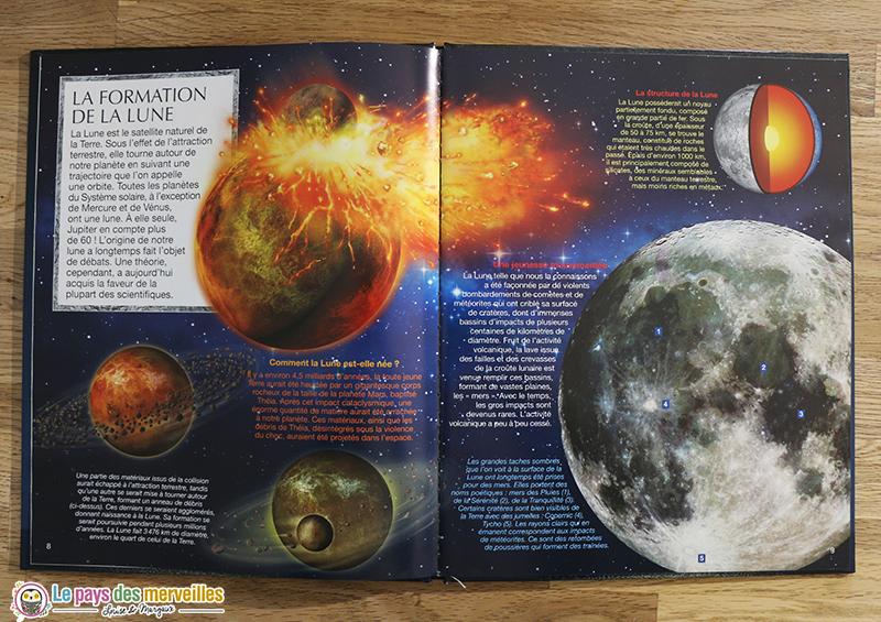 La formation de la Lune