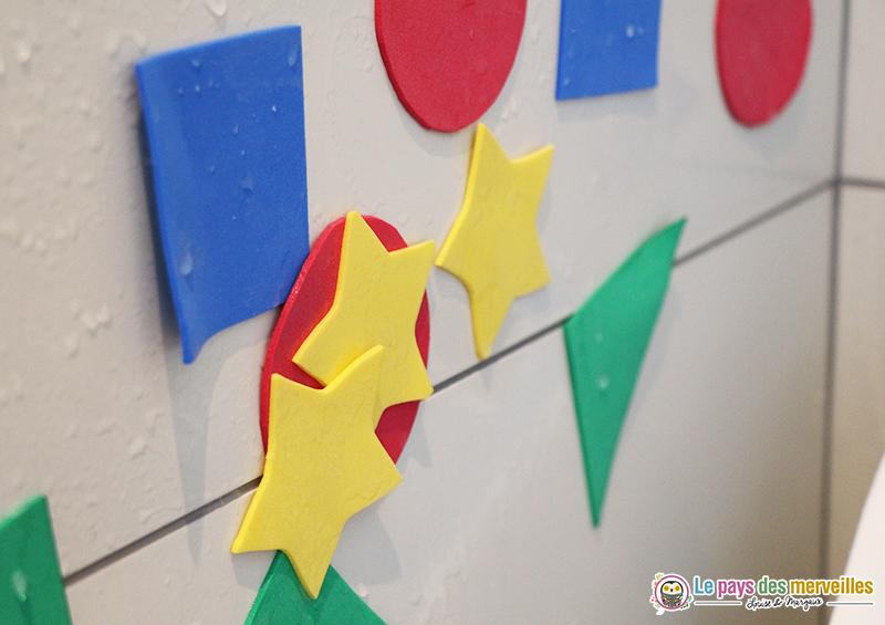 étoiles en papier mousse