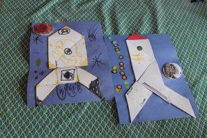 Fusée en tangram