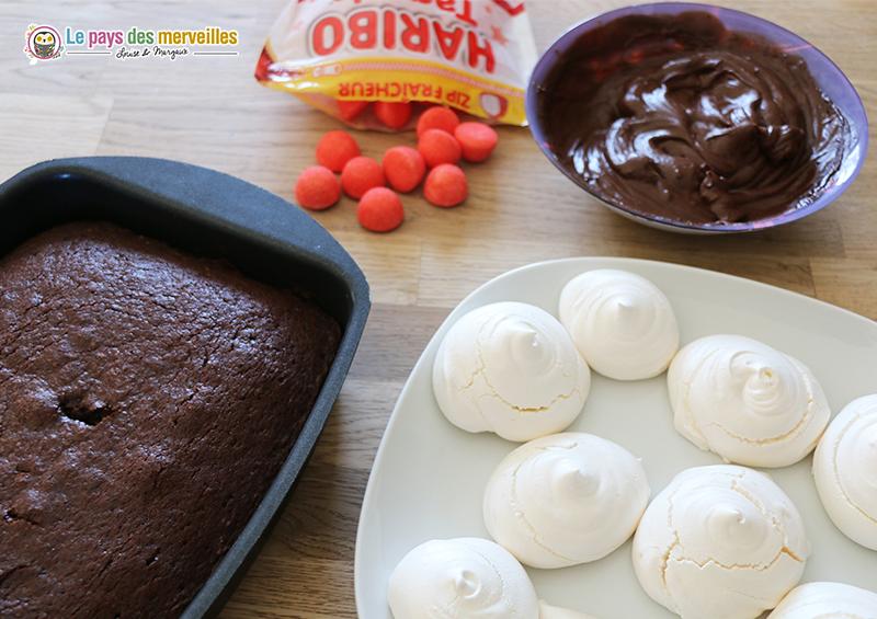 decoration gâteau
