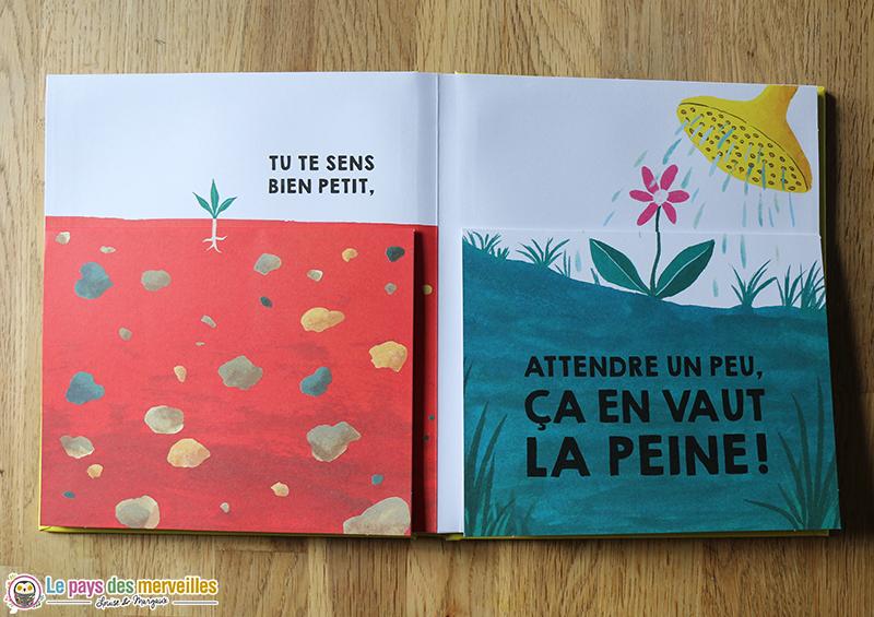 livre pour découvrir les manières de grandir