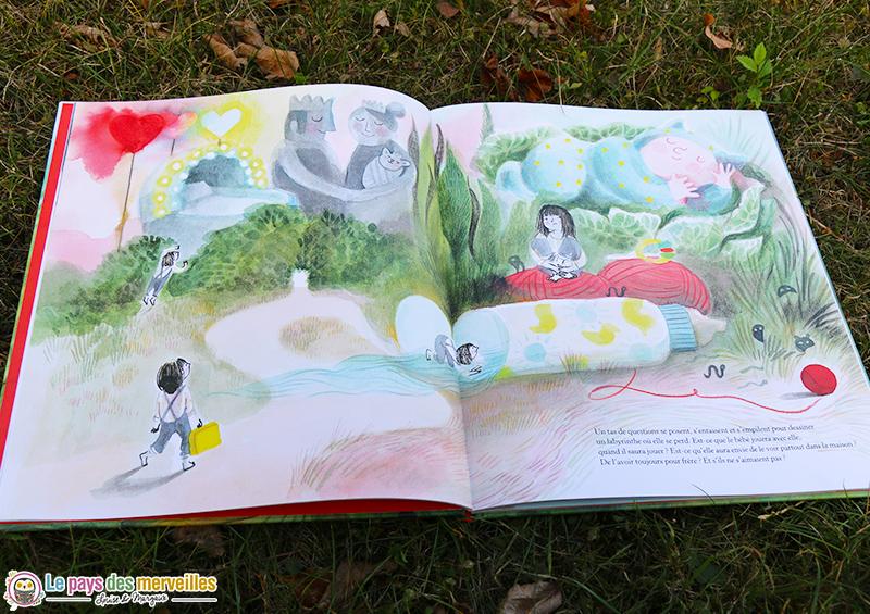 Intérieur du livre Hector et les bêtes sauvages de Cécile Roumiguière
