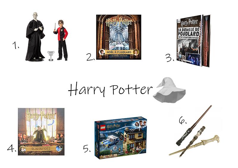 idées cadeaux de Noël Harry Potter