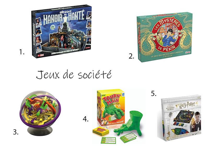 idées cadeaux de Noël jeux de société 9 ans