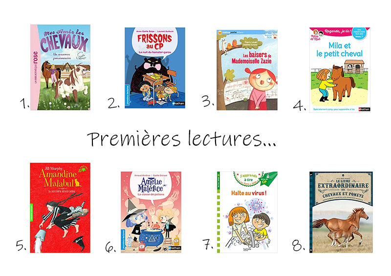 idées de lectures pour enfants de 6 ans