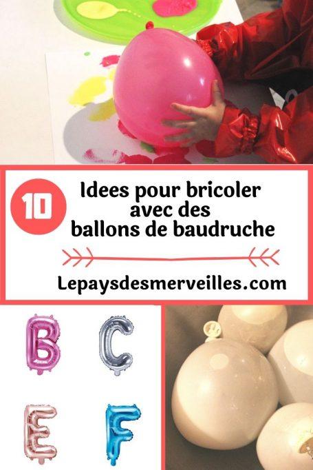 10 idées d'activités avec des ballons de baudruche
