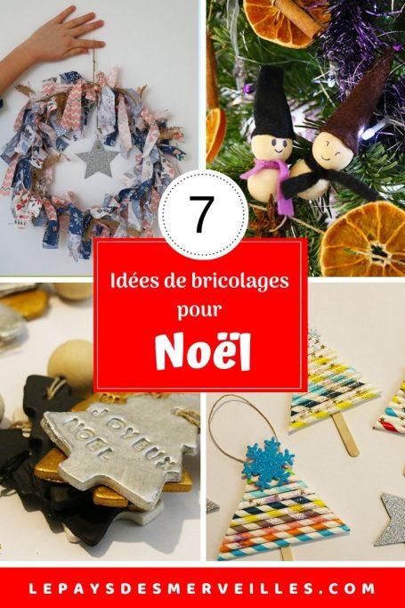 7 idées de bricolages de Noël à faire avec les enfants