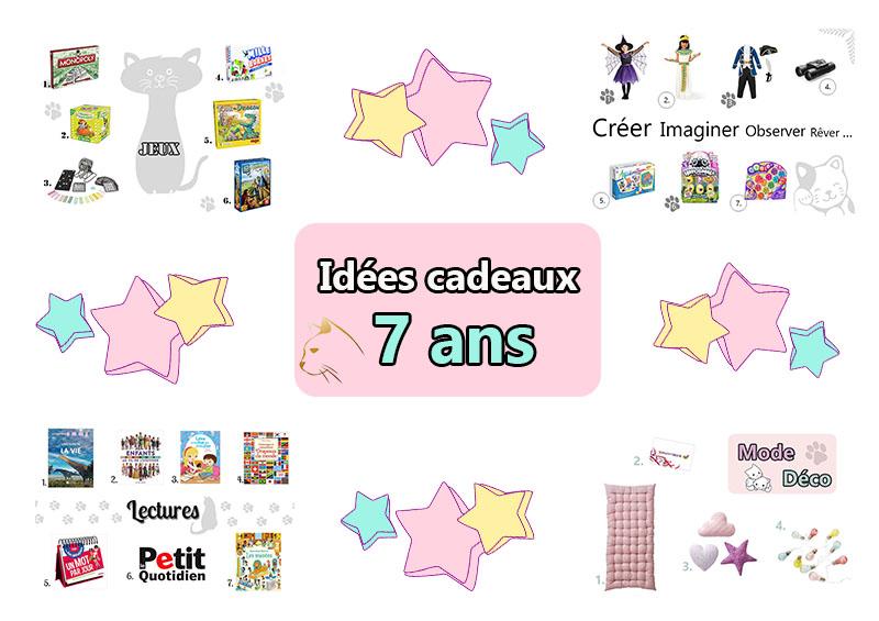 Idées cadeaux fille 7 ans