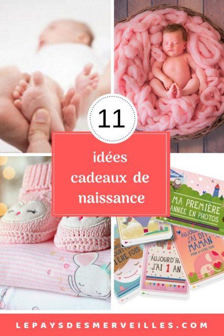 11 idées de cadeaux de naissance