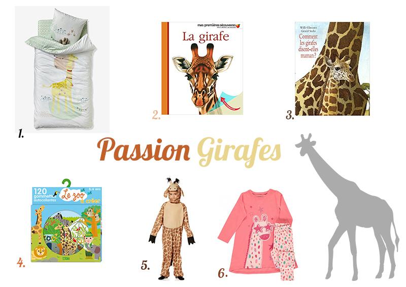 Idées de cadeaux sur le thème des girafes
