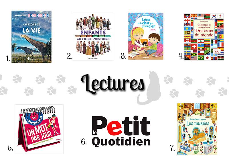 idées cadeaux de livres pour enfant de 7 ans