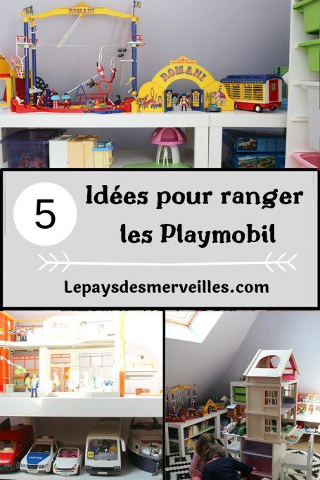 5 idées pour faciliter le rangement des playmobil