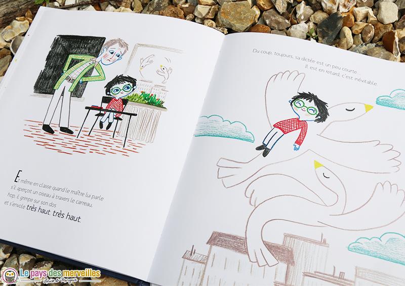 illustration du livre pour enfant Dans la Lune