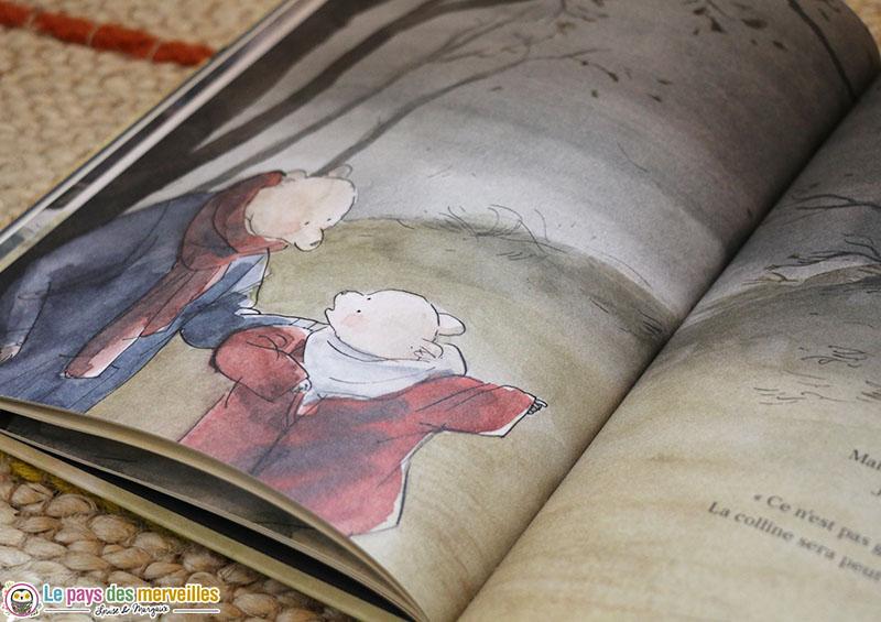 Livre enfant sur le thème de la solidarité