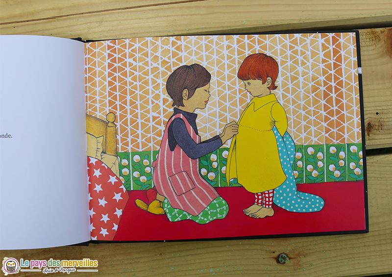 Illustrations rétro du livre Bonne nuit, le monde