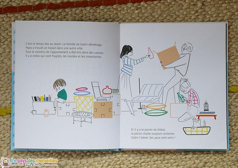 """illustrations du livre """"Une bulle de timidité pour Gabin"""""""