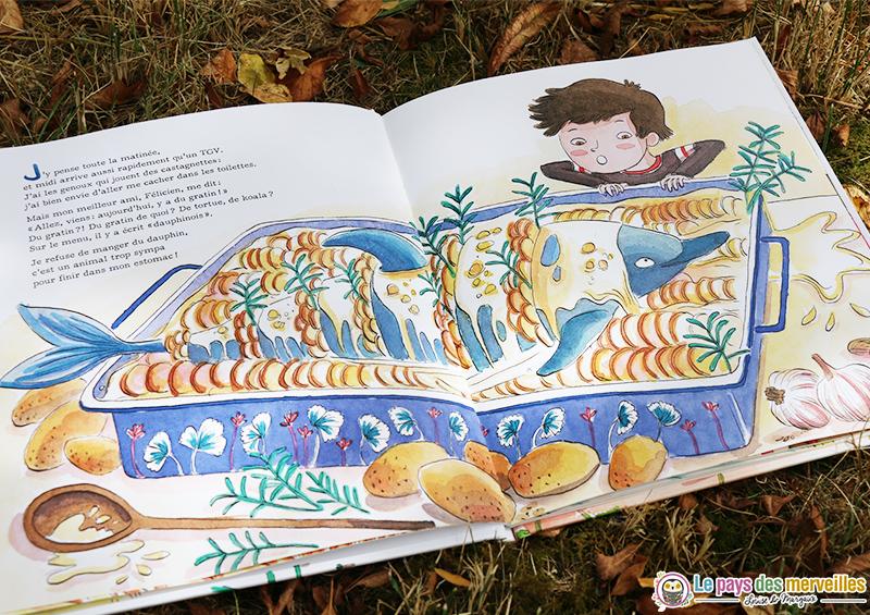 Ilustration du livre Cette année j'ai cantine