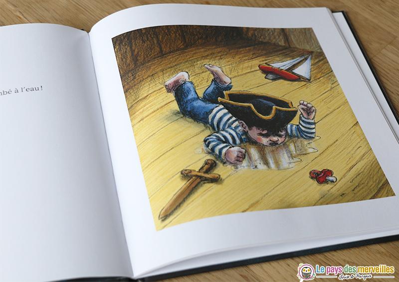 Illustrations du livre Un ours à la mer
