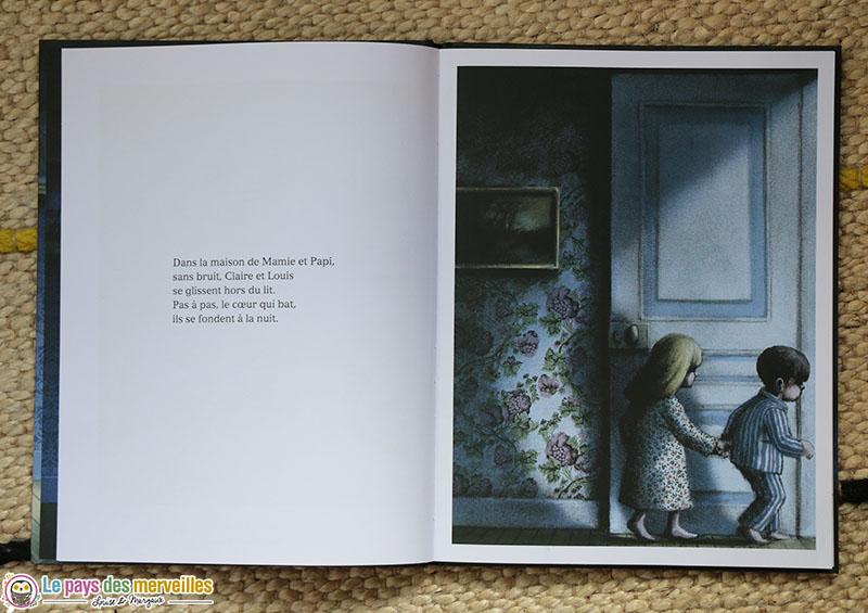 Livre enfant sur le thème de la nuit