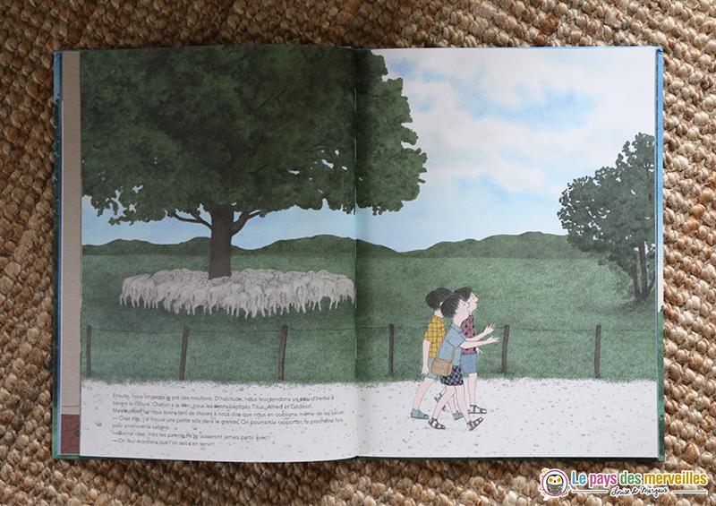 Notre cabane aux éditions Seuil jeunesse