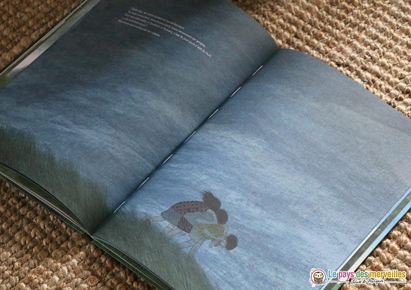 illustrations de l'album Notre cabane de Marie Dorléans