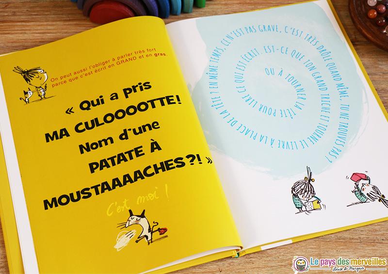Illustrations du livre Oh non, pas un livre !
